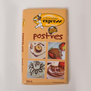 TABLETA CHOCOLATE POSTRES EXPRESS 300GR
